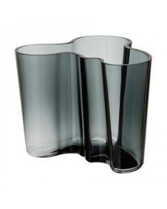 Iittala Aino Aalto Vase Mørk Grå 160Mm