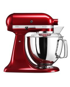 Kitchenaid Artisan Kjøkkenmaskin Rød 4,8L + 3L