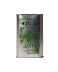 Olivias Olje & Eddik Basilikumolje Tin