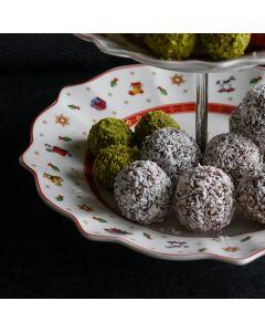 Oppskrift: Kokoskuler med sjokolade