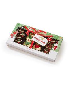 Belgisk Julesjokolade Snømenn og Juletrær 8pk