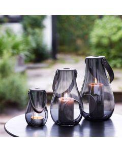 Holmegaard Design With Light Dwl Lanterne Smoke H16