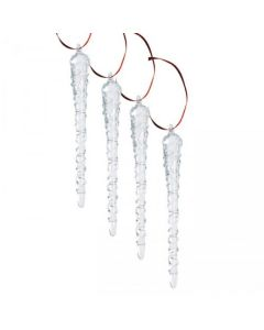Hadeland Glassverk Christmas Collection Glass Istapp 4pk