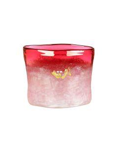 Hadeland Glassverk Hjerte Vase Rød