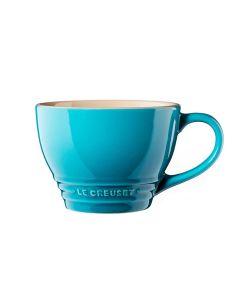 Le Creuset Stentøy Jumbo Kaffekopp 0,4L Caribbean