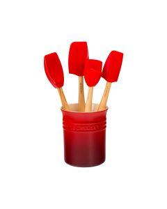 Sett M/ 4 Craft Redskaper I Redskapkrukke 1,1 L Ce
