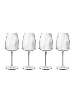 Luigi Bormioli Optica Hvitvinsglass Chardonnay 55cl 4 stk