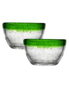 Hadeland Glassverk Sommereng Lyslykt Grønn 2pk