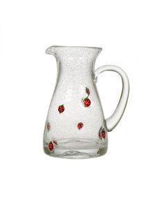 Hadeland Glassverk Jordbær Mugge 1,1 L