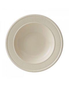 Wedgwood Edme Plain Pastatallerken 25cm