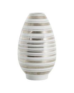 Porsgrunds Porselænsfabrik Stripe Vaser Patron Vase Sølv