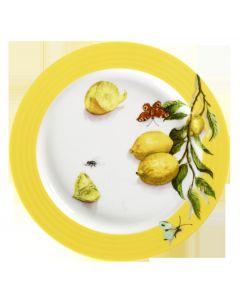 Porsgrunds Porselænsfabrik Citron Rundt Fat 32 cm