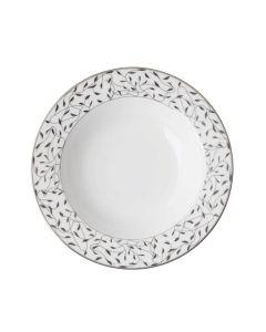 Porsgrunds Porselænsfabrik Cecilie Platinum Salat/Dessert 16 cm