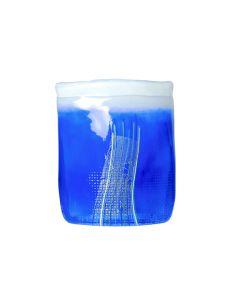 Hadeland Glassverk Aqua Vase 17,5cm