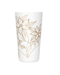 Porsgrunds Porselænsfabrik Vase Maud Indian Blossom Gold 27cm