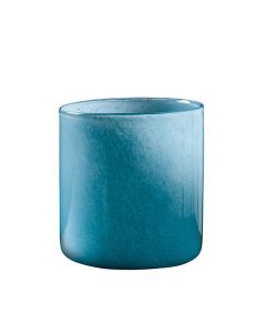 Hadeland Glassverk Ingrid Vase Lav Light Ink Blue Pow