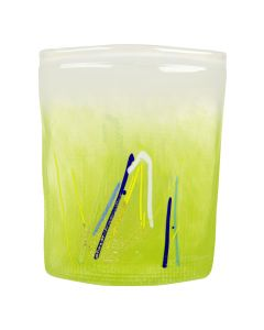 Hadeland Glassverk Aqua Vase Lime 175 Mm