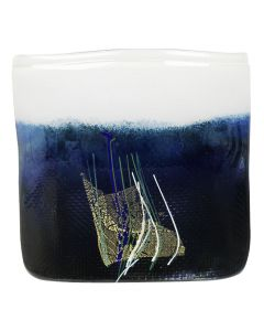 Hadeland Glassverk Aqua Vase Sort