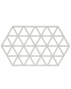 Zone Denmark Bordskåner Warm Grey Triangles 24cm