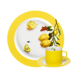 Porsgrunds Porselænsfabrik Citron servise